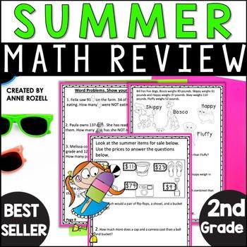 2nd Grade Summer Math Review