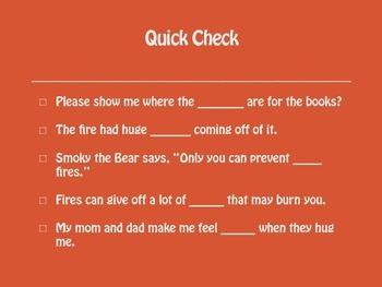 Grade 2 Mc Graw Hill Ca Treasures: Fighting the Fire Vocabulary Routine