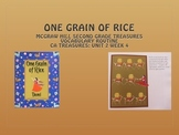 Grade 2: Mc Graw Hill Ca Treasures: One Grain of Rice Vocabulary Routine: