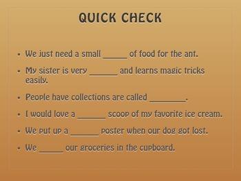 Grade 2: Mc Graw Hill Ca Treasures: One Grain of Rice Vocabulary Routine: