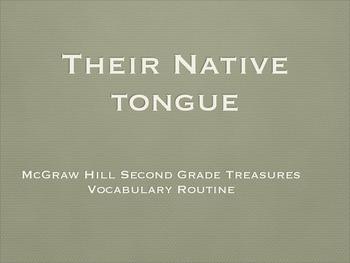 Grade 2 Mc Graw Hill Ca Treasures: Their Native Tongue Voc