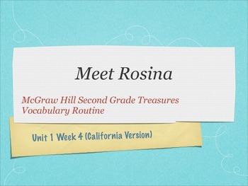 Grade 2 Mc Graw Hill Ca Treasures: Unit 1 Vocabulary Bundle