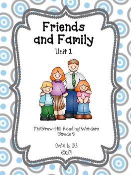 Grade 2 McGraw-Hill Wonders Unit 1 Leveled Reader Activities
