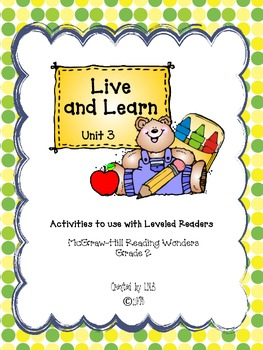 Grade 2 McGraw-Hill Wonders Unit 3 Leveled Reader Activities