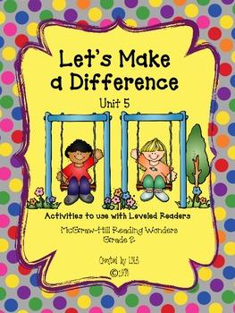 Grade 2 McGraw-Hill Wonders Unit 5 Leveled Reader Activities