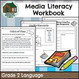 Grade 2 Media Literacy Workbook | NO PREP (Ontario Language Curriculum)