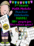 Grade 2 Practice Notebook BUNDLE (280+ PAGES)
