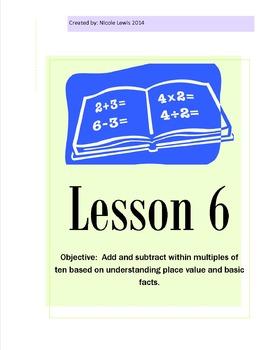 Grade 2- Module 1- Lesson 6 Math- Common Core