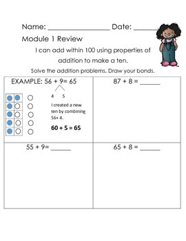Grade 2 Module 1 review page