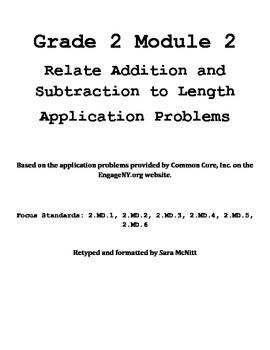 Grade 2 Module 2 Application Problems