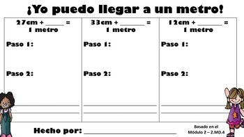 Grade 2 Module 2 Making a meter SPANISH AND ENGLISH