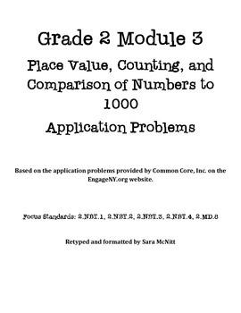Grade 2 Module 3 Application Problems