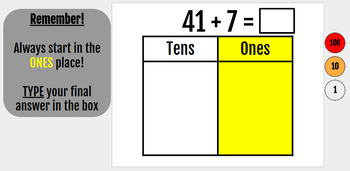 Grade 2 Module 4: Adding with Place Value Disks Digital Interactive Notebook
