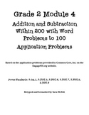 Grade 2 Module 4 Application Problems