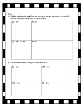 Grade 2, Module 4 End of Module Review Packet #2