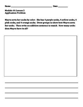 Grade 2 Module 6 Application Problems