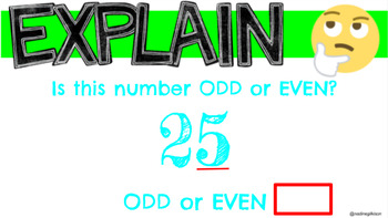 Odd/Even & Doubles Digital Interactive Notebook