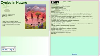 Grade 2- Domain 6- Cycles in Nature- Smartboard Unit-Listening and Learning-