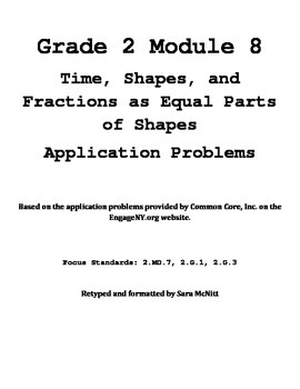 Grade 2 Module 8 Application Problems