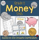 Grade 2 Money Unit {Ontario Curriculum}