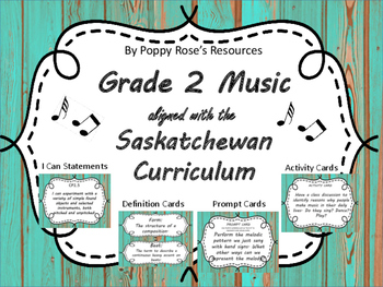 Grade 2 Music (Arts Education) - Saskatchewan