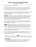 Grade 2 Music Simple Composition Assessment