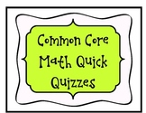 Grade 2 NBT Math Quick Quizzes