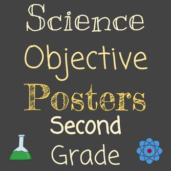 Objective Posters | Grade 2 Science | Entire Year
