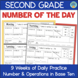 Grade 2 NUMBER OF THE DAY 9 Weeks of Daily Math: Number & Operations in Base 10