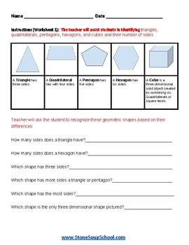 Grade 2 - Nevada  -  Geometry  - Common Core