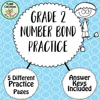 Number Bonds Practice - Grade 2