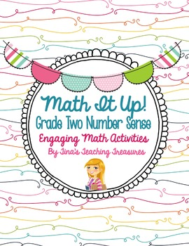 "Grade 2 Number Sense ""Math It Up"" Engaging Activities"