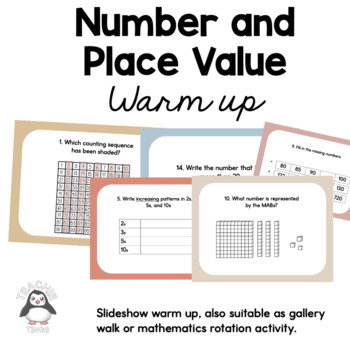 Grade 2 Number and Place Value Gallery Walk
