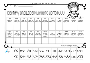 Grade 2 Number and Place Value Pack