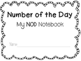 Grade 2 Number of the Day Workbook 1st Quarter