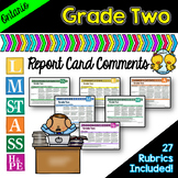 Grade 2 Ontario Report Card Comments