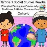 Grade 2 Ontario Social Studies Bundle 2018