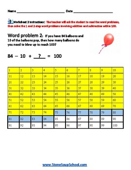 Grade 2 - Operations and Algebraic Thinking - Physical Disabilities Common Core
