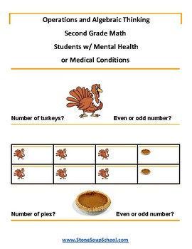 G 2 - Operations and Algebraic Thinking - Mental Health or Medical Conditions