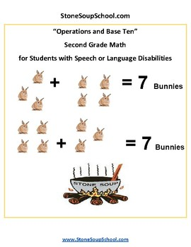 Grade 2 - Operations and Base Ten Speech or Language Disabilities - Common Core
