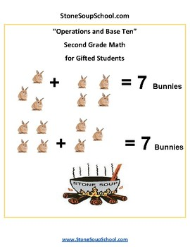 Grade 2 - Operations and Base Ten for Gifted and Talented Students - Common Core
