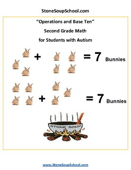 Grade 2 - Operations and Base Ten for Students with Autism - Common Core