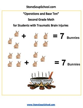 Grade 2 - Operations and Base Ten for Traumatic Brain Injuries - Common Core