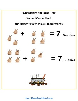 Grade 2 - Operations and Base Ten for Visual Impairments - Common Core