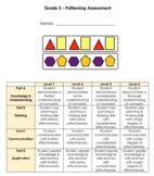Grade 2 Patterning Assessment