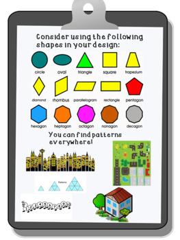 Patterns Final Project- Pattern City- Grade 2 Alberta curriculum