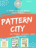 Patterns Final Project- Pattern City- Grade 2 Alberta curriculum