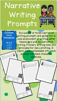 Grade 2 Personal Narrative Writing Prompts