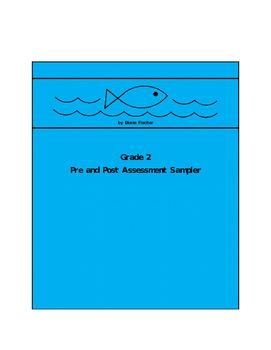 Grade 2 Pre and Post Assessment Sampler