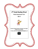 Grade 2 Reading Street 2013 CC Weekly Story Tests Unit 3